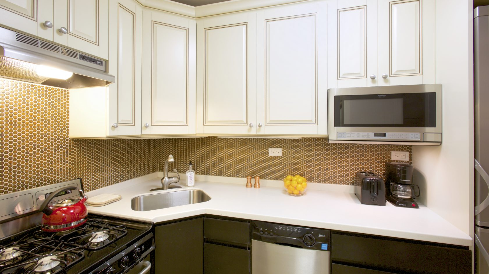 kitchen for extended stay in nyc hotel